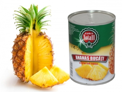 ananas bucati conservat