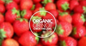 Organic or not? Check the label
